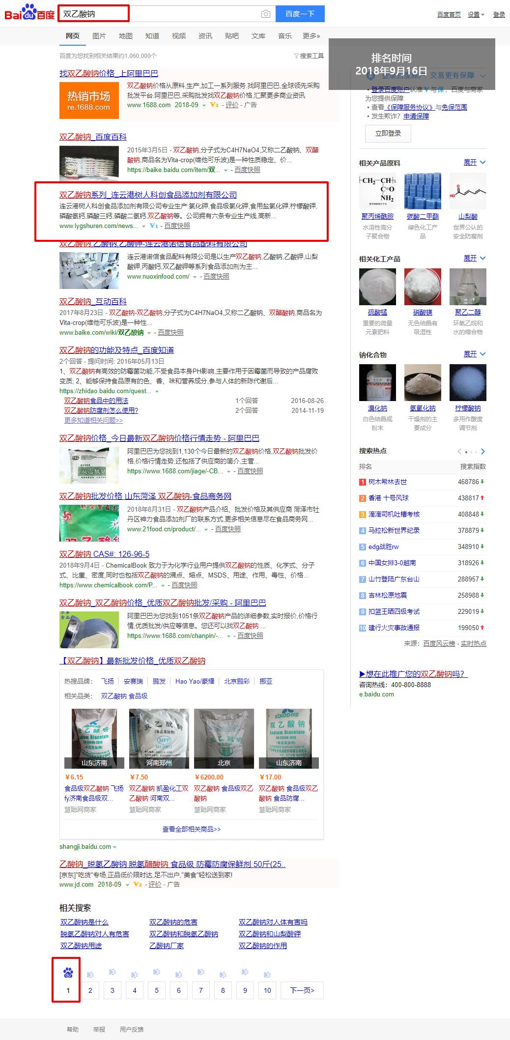 網站優化-雙乙酸鈉